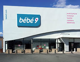 Bebe 9 magasin puericulture