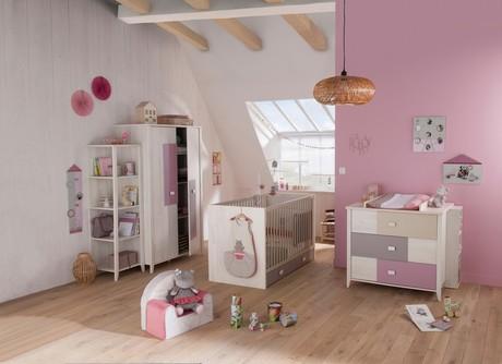 Chambre Lit 70x140 commode armoire CHARLY FILLE, Vente en ligne de ...