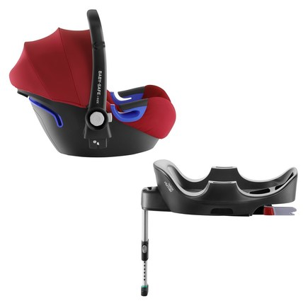 Siège auto BABY-SAFE ISIZE Flame Red + base BRITAX RÖMER