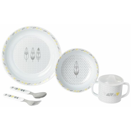 Coffret repas 5 pieces Hector & Jasmine BEBE9 CREATION