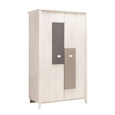 Chambre Lit 70x140 + commode + armoire CHARLY BEBE9 CREATION - 2
