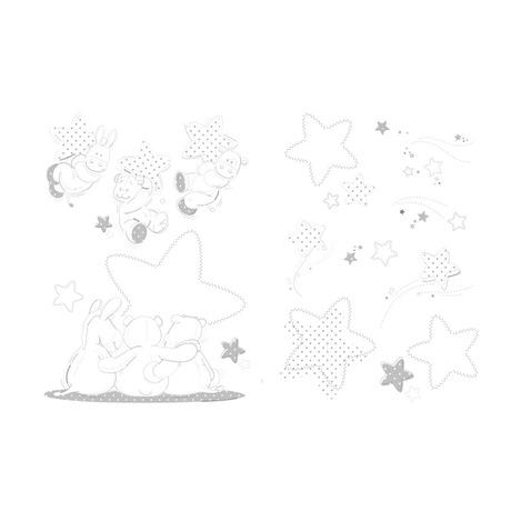 Stickers muraux Poudre d\'étoiles, Vente en ligne de Chambre bébé   Bébé9