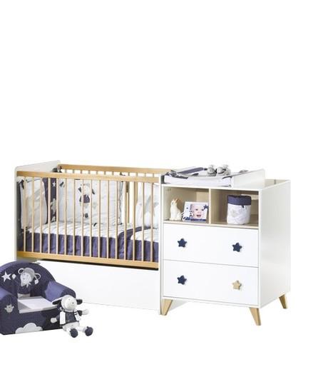 lit combin volutif 60x120 90x190 oslo toile vente en ligne de chambre b b b b 9. Black Bedroom Furniture Sets. Home Design Ideas