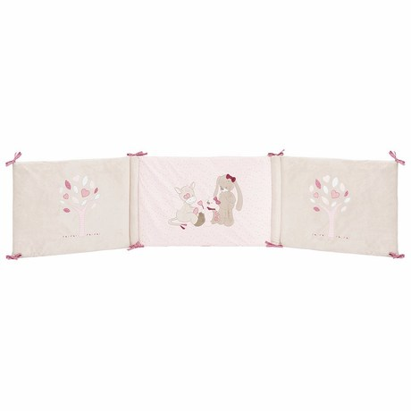 tour de lit nina, jade & lili, vente en ligne de linge de lit bébé