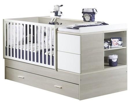 lit combin volutif 140x70 new opale sans motif vente en ligne de chambre b b b b 9. Black Bedroom Furniture Sets. Home Design Ideas