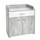 Commode 2 portes 1 tiroir KYLIAN BEBE9 CREATION
