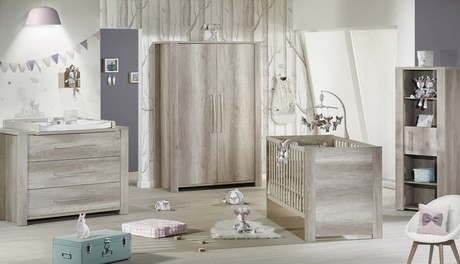 chambre b b lit 70x140 commode armoire emmy vente en. Black Bedroom Furniture Sets. Home Design Ideas