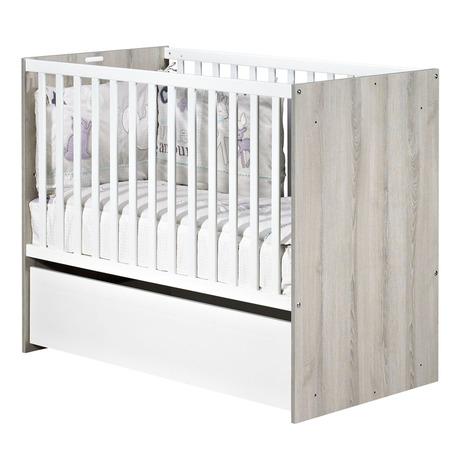 Lit de bébé 60x120 transformable NAEL, Vente en ligne de | Bébé9