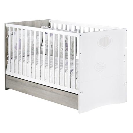 Tiroir de Lit évolutif 70x140 NAEL, Vente en ligne de Chambre bébé ...