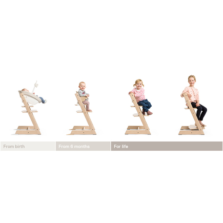 Chaise haute TRIPP TRAPP rose pale STOKKE - 2