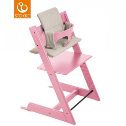 Chaise haute TRIPP TRAPP rose pale STOKKE - 3