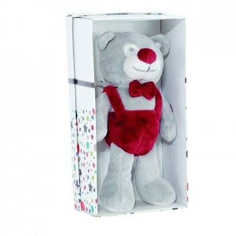 0407201e9eac1 Petit ours sous boite cadeau Praline et Caramel TROISKILOSSEPT Zoom
