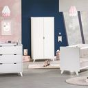 Chambre lit 60x120 + commode + armoire Secret BEBE9 CREATION - 2