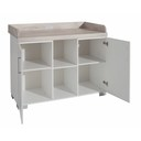 Chambre duo Lit COSY Blanc+Commode METAMORPHOSE BEBE9 CREATION - 4