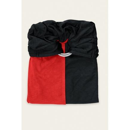 La petite écharpe sans nœud rouge scarlett noir, Vente en ligne de ... 93b7fe3cc64