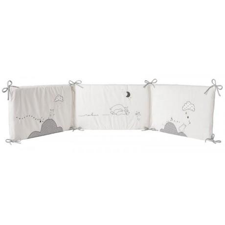 Tour de lit Veloudoux Timeless, Vente en ligne de Linge de lit bébé ...