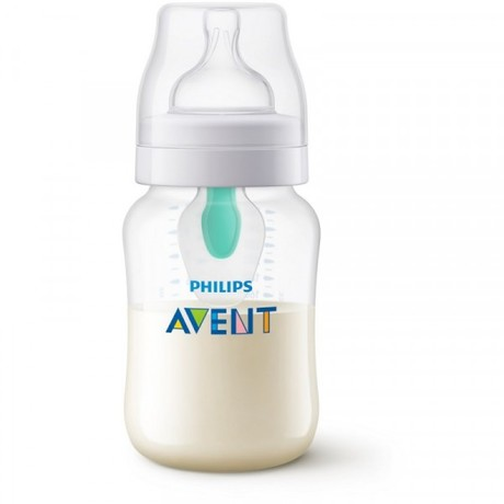 Biberon Avent  ANTICOLIC AIRFREE 260 ml Blanc AVENT