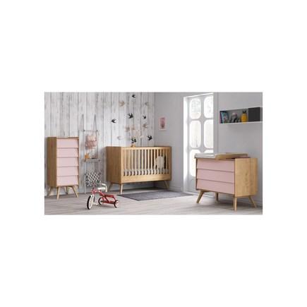 Façades de tiroirs bois/rose pour commode Vox, Vente en ligne de ...