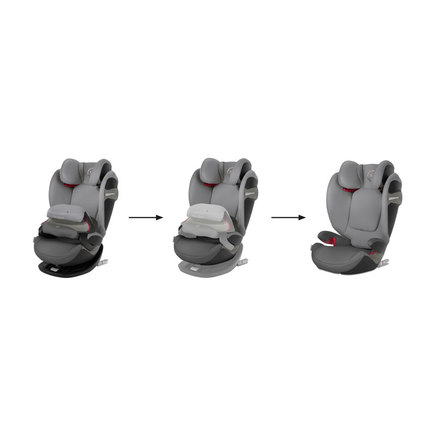 Siege auto PALLAS S-FIX gr1/2/3 Manhattan Grey CYBEX - 6