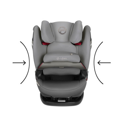 Siege auto PALLAS S-FIX gr1/2/3 Pepper Black CYBEX - 7