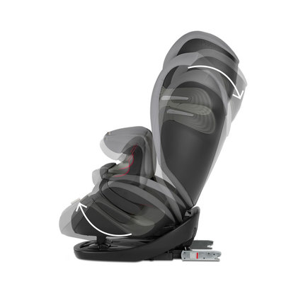 Siege auto PALLAS S-FIX gr1/2/3 Pepper Black CYBEX - 3