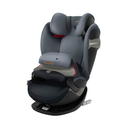 Siege auto PALLAS S-FIX gr1/2/3 Pepper Black CYBEX