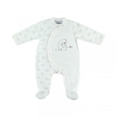 ac86b6f890586 Pyjama en velours Timeless 3 mois NOUKIE  S - 2