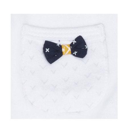 0ffa97c1fbbdb Pyjama Velours Blanc Fille Naissance HELLO SAUTHON - 2