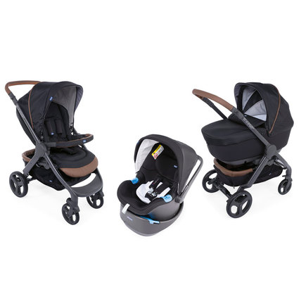 Poussette TRIO StyleGo Up BebeCare Pure Black CHICCO