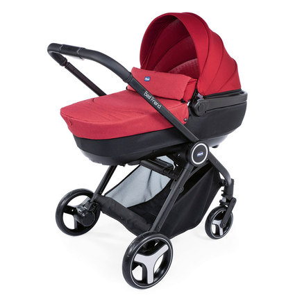Poussette TRIO Best Friend Comfort Red CHICCO - 8