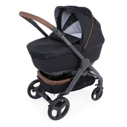 Poussette TRIO StyleGo Up BebeCare Pure Black CHICCO - 2