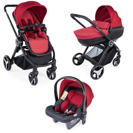Poussette TRIO Best Friend Comfort Red CHICCO