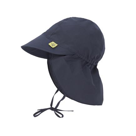 bon ajustement bas prix sélectionner pour officiel Casquette protège-nuque anti-UV Bleu marine 6-18 mois