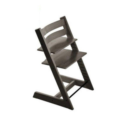 Chaise haute TRIPP TRAPP gris brume STOKKE
