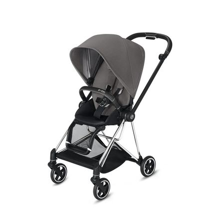 Poussette MIOS Chrome Black Manhattan Grey CYBEX