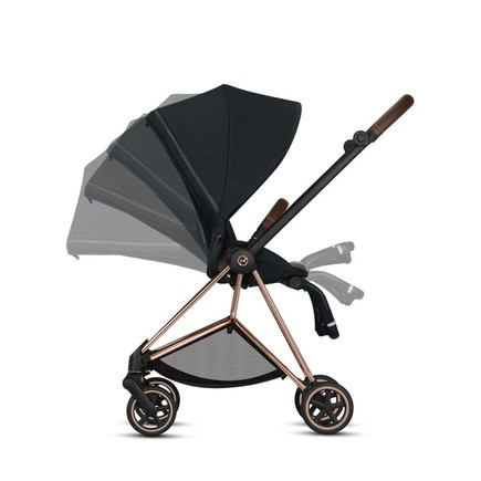 Poussette MIOS Chrome Black Manhattan Grey CYBEX - 3