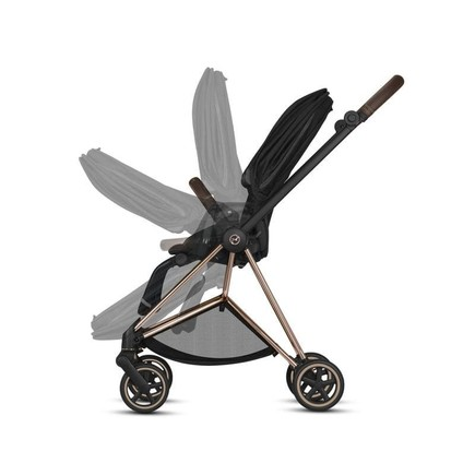 Poussette MIOS Chrome Black Manhattan Grey CYBEX - 4