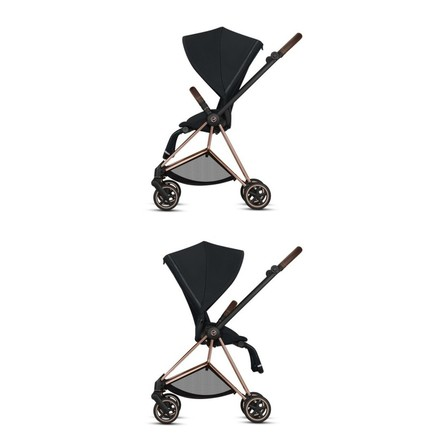 Poussette MIOS Chrome Black Manhattan Grey CYBEX - 7
