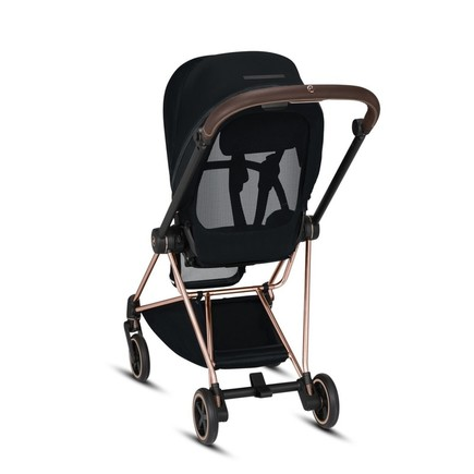 Poussette MIOS Chrome Black Manhattan Grey CYBEX - 5