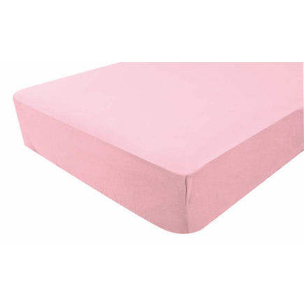 Drap-housse jersey 40x80 cm Rose BEBE9 CREATION