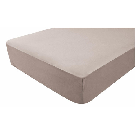 Drap-housse jersey 40x80 cm Taupe BEBE9 CREATION