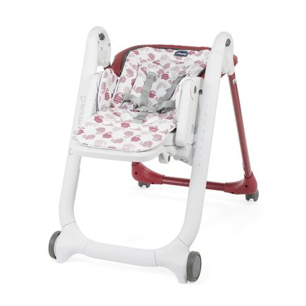Chaise haute Polly Progres5 4r Red CHICCO - 3