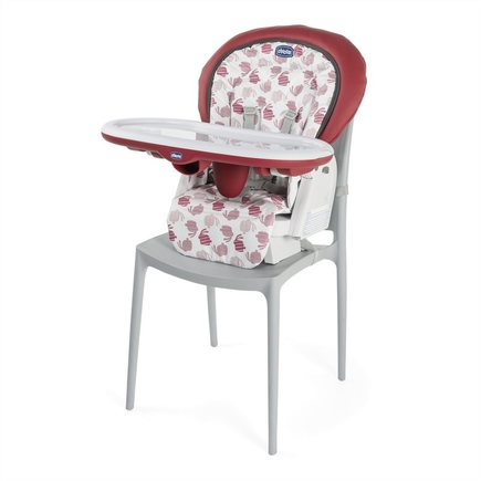 Chaise haute Polly Progres5 4r Red CHICCO - 2