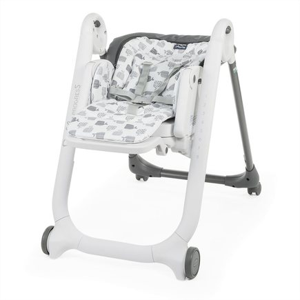 Chaise haute Polly Progres5 4r Grey CHICCO - 3