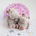 Grande peluche Hippo girl  HISTOIRE D'OURS - 2