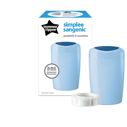 Bac à couches SIMPLEE Bleu TOMMEETIPPEE - 2