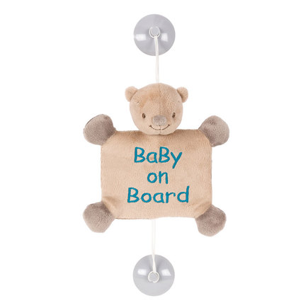 Baby on Board Basile l'Ours NATTOU