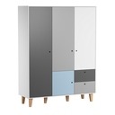 Porte additionnelle Bleue chambre Concept VOX - 2