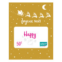 Carte cadeau 50 € BEBE9 CREATION