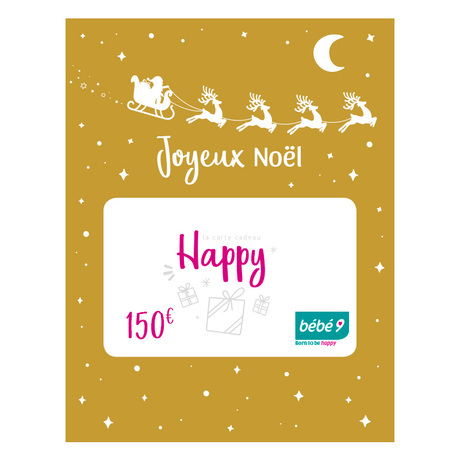 Carte cadeau 150 € BEBE9 CREATION